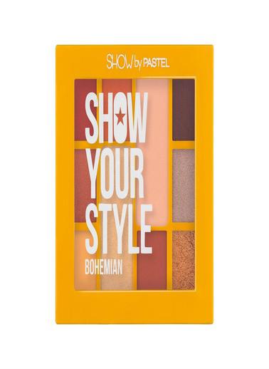 Pastel Pastel Show Your Style Bohemıan 10 Lu Palet Far Renkli